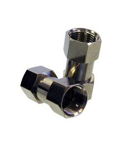Coaxial Adaptor: F-Type Plug (Male) to F-Type Plug (Male)