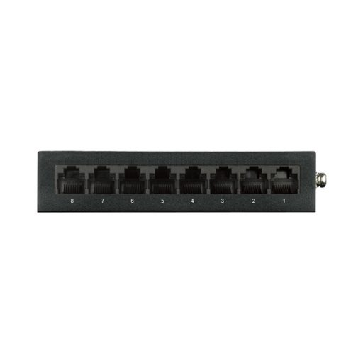 D-Link DGS-108 8-Port Gigabit Desktop Switch (Metal Housing)