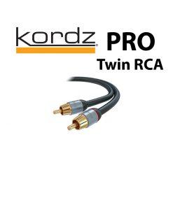 Kordz PRO Twin AV Interconnects