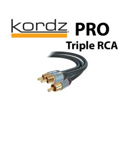 Kordz PRO Triple AV Interconnects