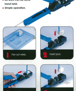 AMDEX: Speed Termination Tool to suit AMDEX Faced Jacks