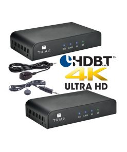 TRIAX HRx/HTx 4K Kit - Point to Point HDMI over CATx / PoC / IR / RS232