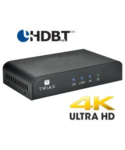 TRIAX HRX1LP4K Receiver for 4K HDMI over CATx / PoC / IR / RS232