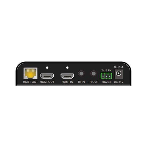TRIAX HTX1H1LP4K Transmitter for 4K HDMI over CATx / PoC / IR / RS232