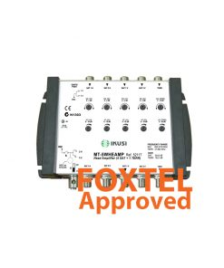 IKUSI 5-Wire 4x SAT / 1x TER Distribution Head/Repeater Amplifer