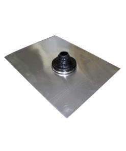 Pipe Flashing, Aluminium – Standard for Tiled Roof Penetrations