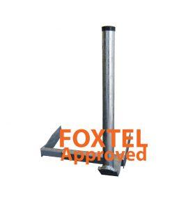 Bracket SAT: Ezy HD 600mm Gutter Mount to suit Offset Antenna 65-90cm