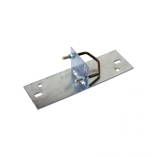 Mast Base - Light Angle Roof Mount including U-bolt