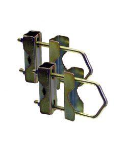 Mast Extension Kit - 2x U-bolt and V-Blocks