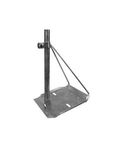 Corrugated Roof - Tin Roof Antenna Mounting Inc 1.2M Mast