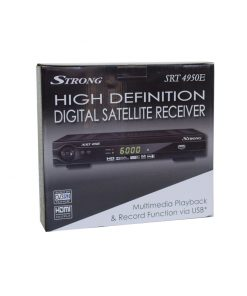 HD Satellite Receiver - Strong SRT4950E DVB-S/S2, MPeg2/4, PVR Ready