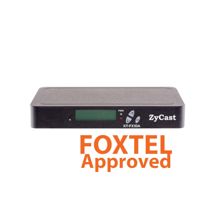 digi-MOD HD by ZYCAST RL-KT-FX1DA SINGLE (1) Input HD MPEG4 Digital  Modulator