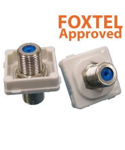 AMDEX - F - F 3GHz Insert (Foxtel Approved) suits AMDEX/Clipsal style plates